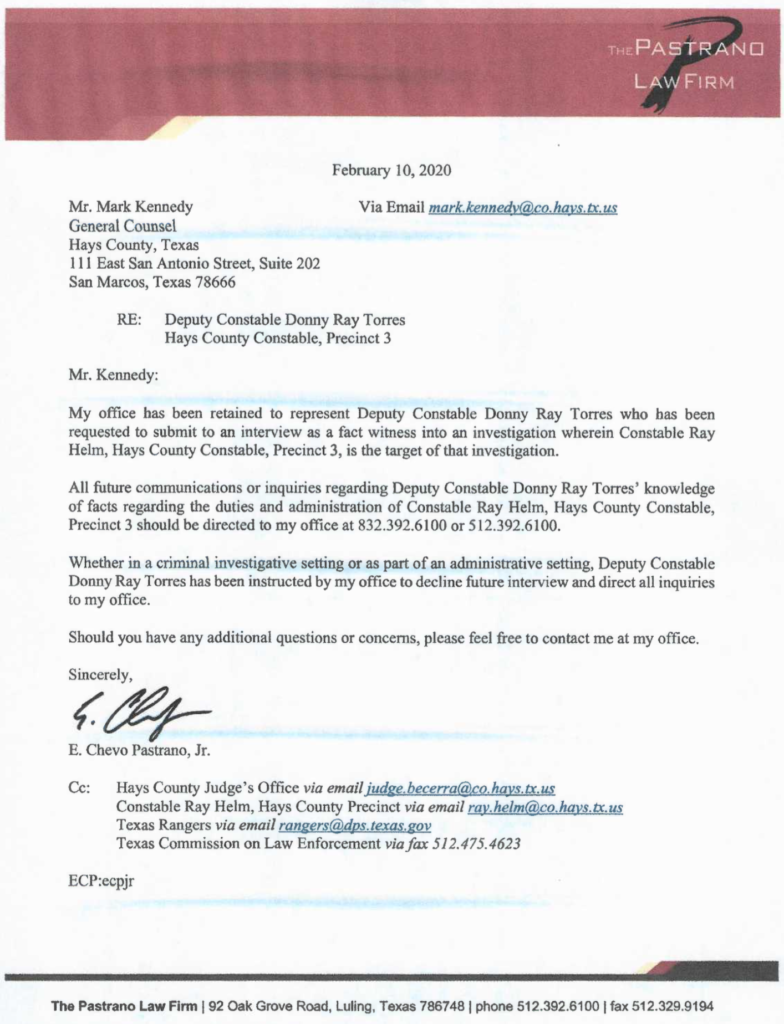 Letter To Fire Attorney from www.truthaboutrayhelm.com